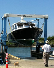 Boatyard Service and Storage