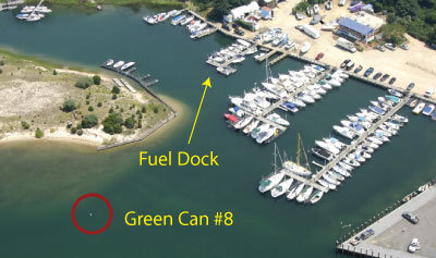Gas and Diesel Fuel Dock